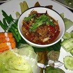 spicy mushroop dip