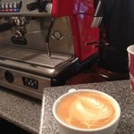 Spaziale S5, Rave Coffee and Woefuldane fresh organic milk make for a wonderful coffee experienc