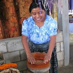 Women's textile/weaving collective - San Juan la Laguna