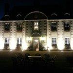 Le château, la nuit