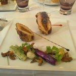 fIlets de poulet farcis au calamar