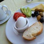 "The simple, filling, healthy ""kahvalti"" [breakfast]"