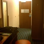 Room looking toward our door