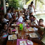 lunch at Union Island with Fantasea Tours.