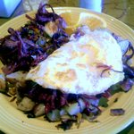 Corned Beef Hash uses Fork-pulled Meat rather than chopped