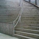Escalera de subida.