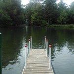 El lago Sauvabelin.