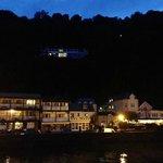 Bath Hotel on a warm August evening
