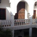 balcon del hotel