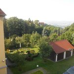 View from bedroom window looking toward downtown Dresden