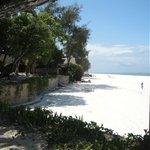 immense plage