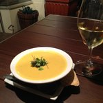 Olive Marketplace and Cafe - Coconut Butternut Squash soup