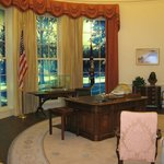 Replica of Oval Office during Carter years