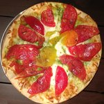 Olive Marketplace and Cafe - Heirloom Tomato Pizza