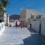 Oia- walking way