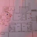el plano del hotelito