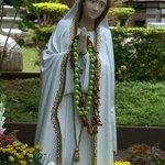 Virgin Mary at the Heritage Gardens