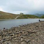 Veduta del Rifugio dal Lago Scaffaiolo