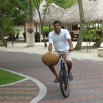 cycling on the island