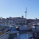 Overlooking the Harbour