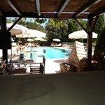 lunch côté pool side