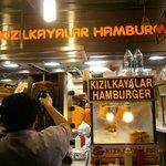 Kizilkayalar shop front.