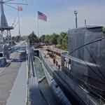 Sub USS Croaker fought in WWII.
