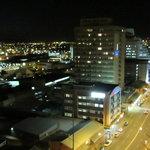 night view of windhoek