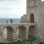 Siracusa - Castello Maniace  (ponte d'accesso)