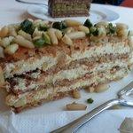 pine nut & pumpkin seed cake