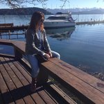 Despues del desayuno, nada mejor que la paz del lago