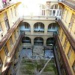 Prédio onde fica o hostel
