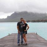 Taking Big Fish to Bora Bora on our honeymoon.