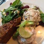 tri-salad sampler: delish!