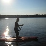 Stand Up Paddle Board arrived at Cedaroma and are free for guests