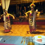 Balinese dancers after the Wednesday banquet