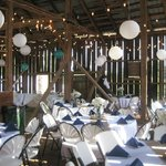 Reception in Barn