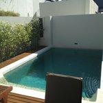 Private pool in pool vila suite