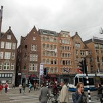 The Front of  The Swissotel Amsterdam