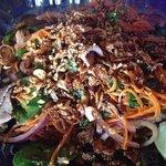 Spicy Lemon Beef Salad