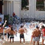 Foam party @ Villagio Theatre