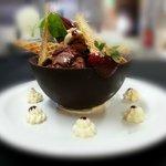 Chocolate basket for 2
