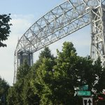 Aerial lift bridge - Canal Park Drive