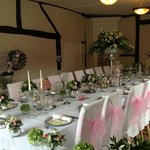 Table and upstairs function room