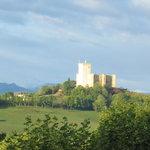 Vue sur le Chateau de Mauvezin