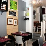 Salle restaurant Le Marjolin.