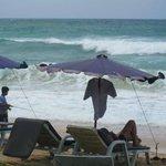Mid-noon waves at Karon beach