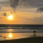 Enjoy the sunset at Karon beach