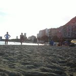 Playa del Postiguet en Septiembre