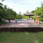 la piscina, fronte mare